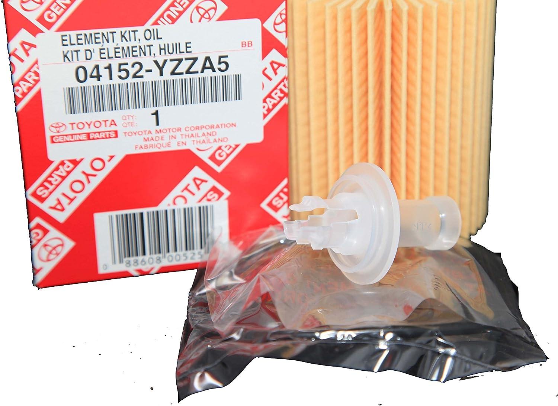 Toyota Set of Three Scion Genuine OEM Oil Filters Lexus 04152-YZZA5