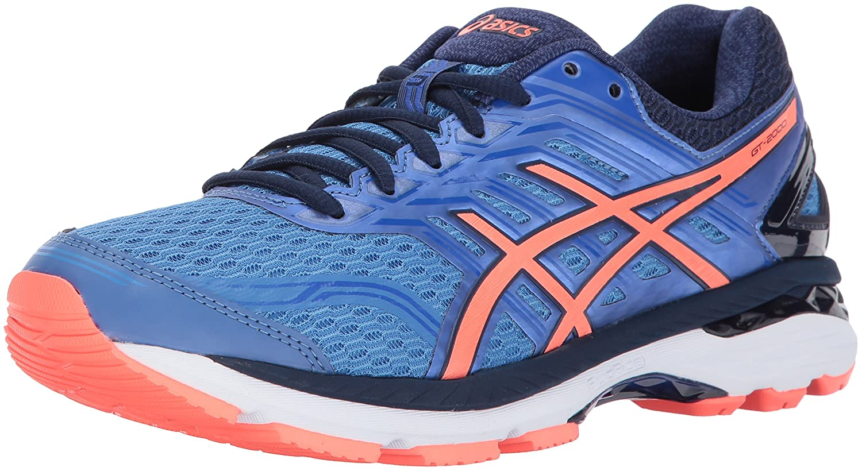 ASICS Women's GT-2000 5 Running Shoe B01N06LU0W 5.5 B(M) US|Regatta Blue/Flash Coral/Indigo Blue