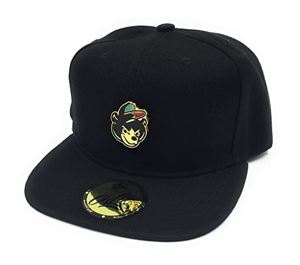 3966e72d156 ... hot gold supreme 24k gold bear snapback black c7839 c34fb