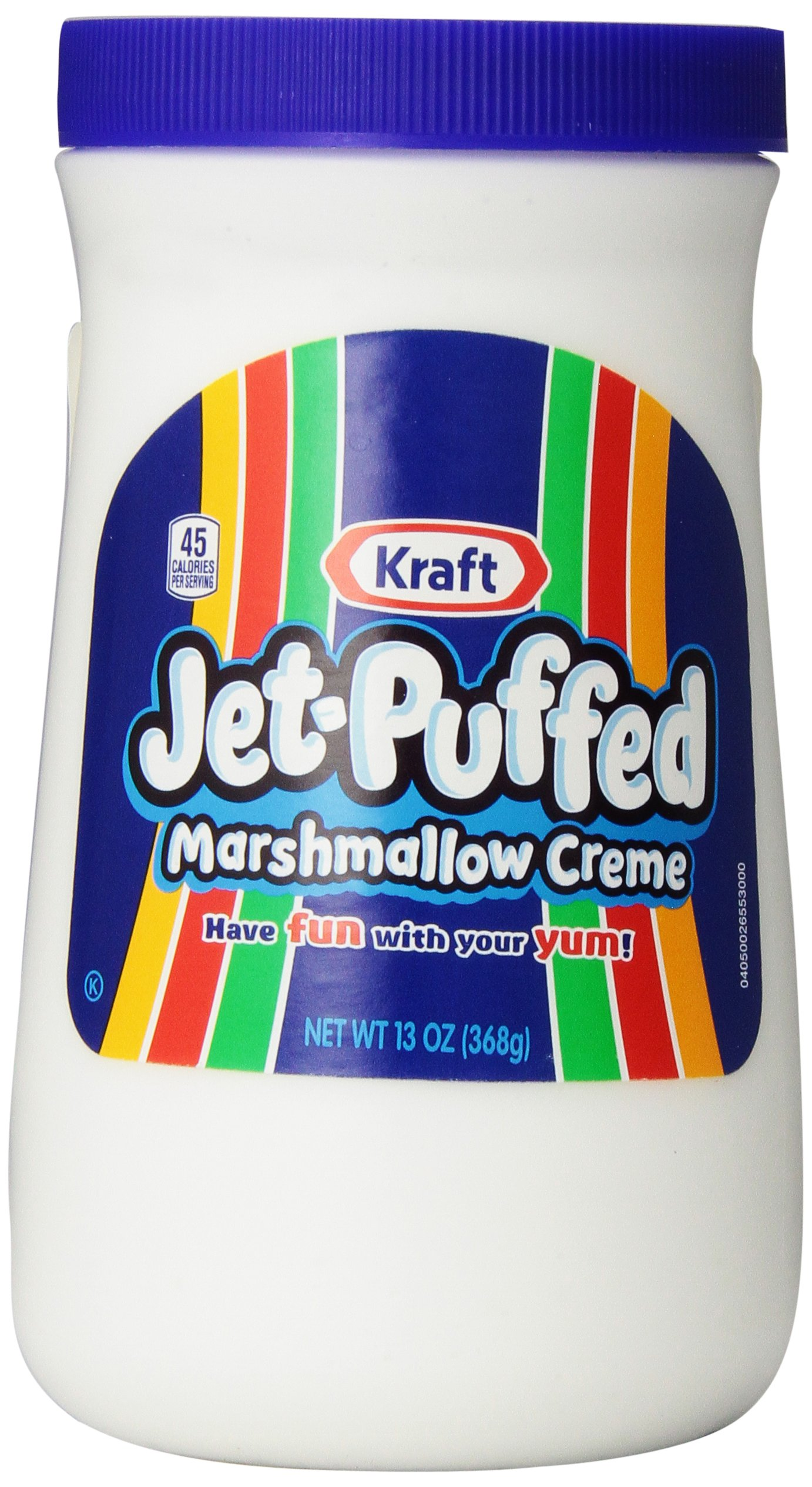 Jet Puffed Marshmallow Creme, 13 Ounce Jars (Pack of 6)