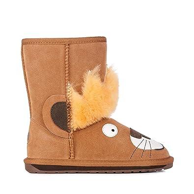 702db787365ad0 EMU Australia Kids Leo Lion Deluxe Wool Boots Size 8