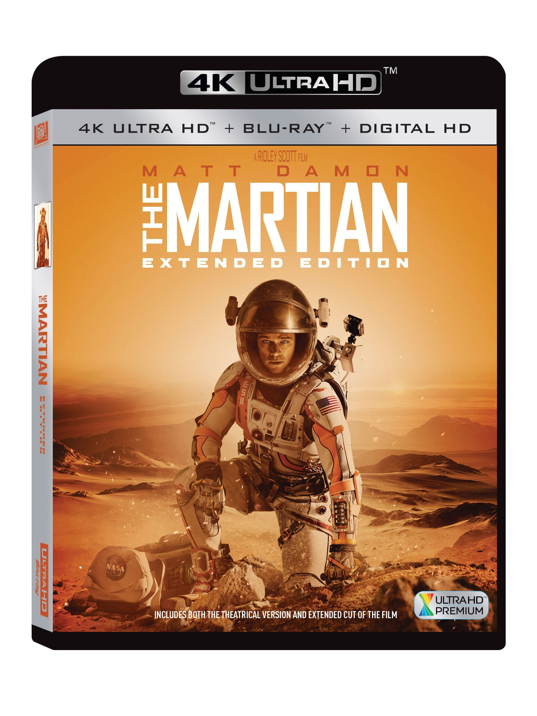 4K Blu-ray : The Martian (Ultra HD)