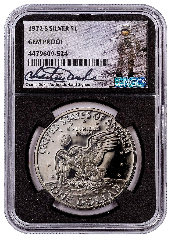 NGC Gem Uncirculated 1971-S US Eisenhower Silver Dollar $1