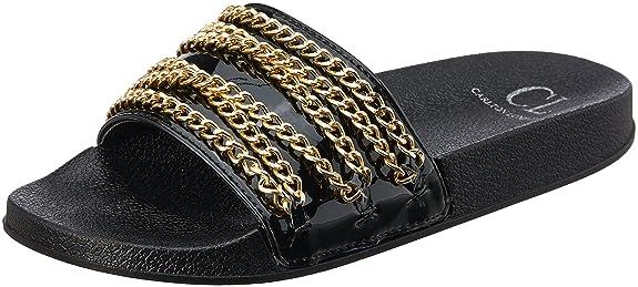 Carlton London Women's Satyana Fashion Sandals Fashion Sandals at amazon