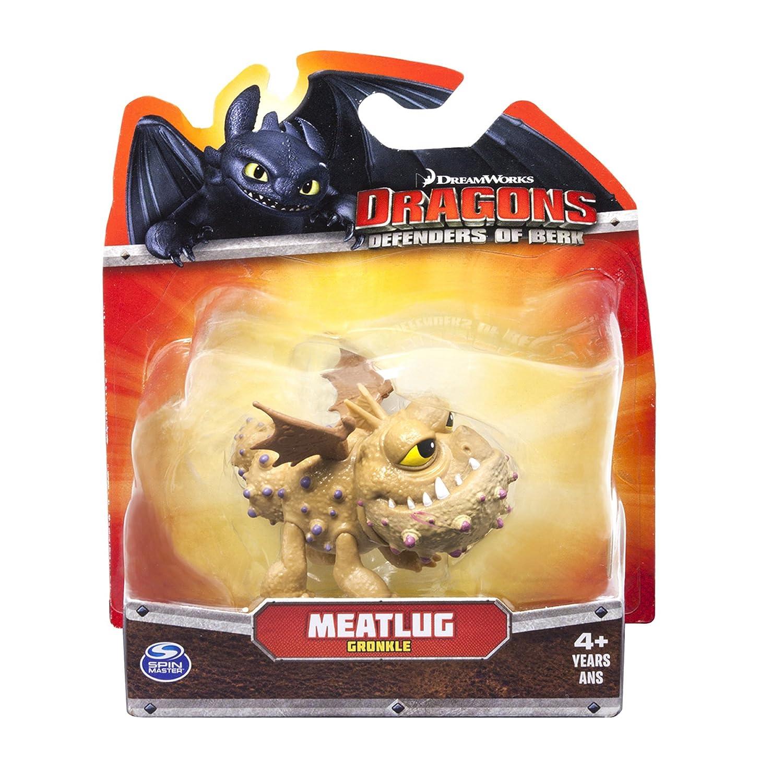 Amazon: Dreamworks Dragons Defenders Of Berk Mini Dragons Meatlug  (gronckle): Toys & Games