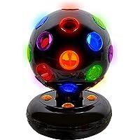 Global Gizmos–5pulgadas giratoria funciona con pilas LED