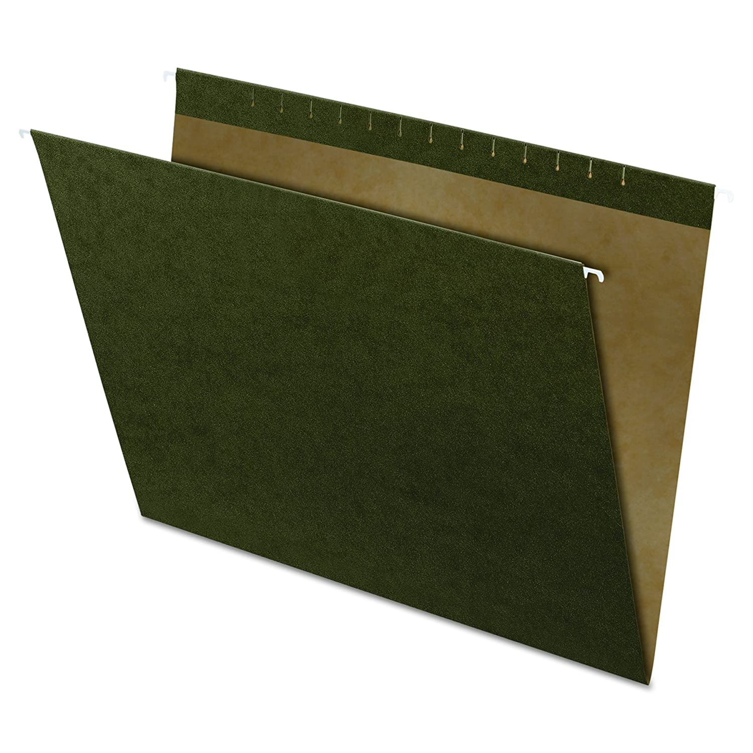 Pendaflex X-ray Size Reinforced Hanging File Folders, 14x18, No Tab, Green, 25 Per Box,(4158) Esselte Corporation 4158EE