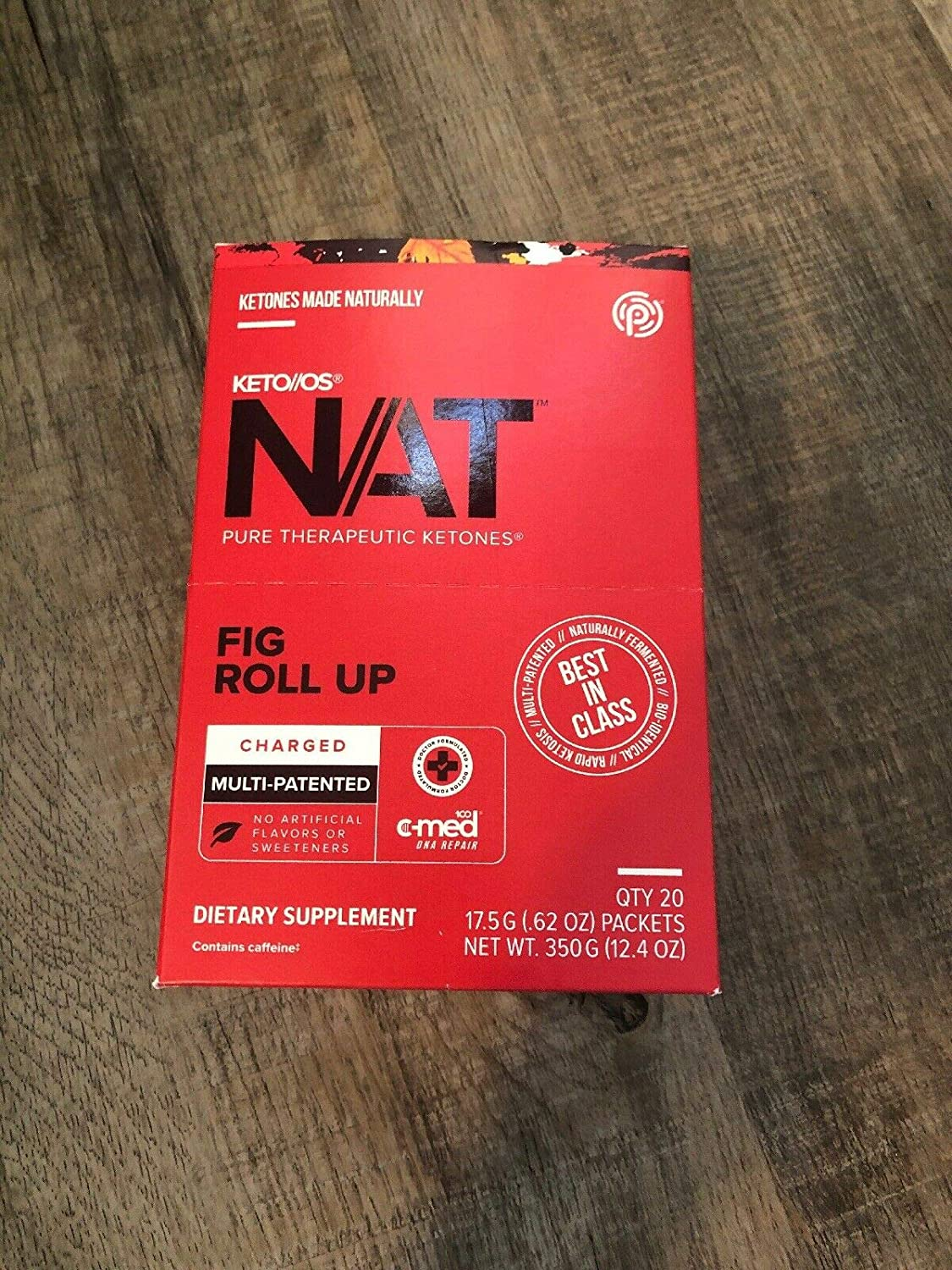 Pruvit KETO OS NAT Fig Roll Up charged 20 Packets Ketones 81xX72BJSdiL._SL1500_
