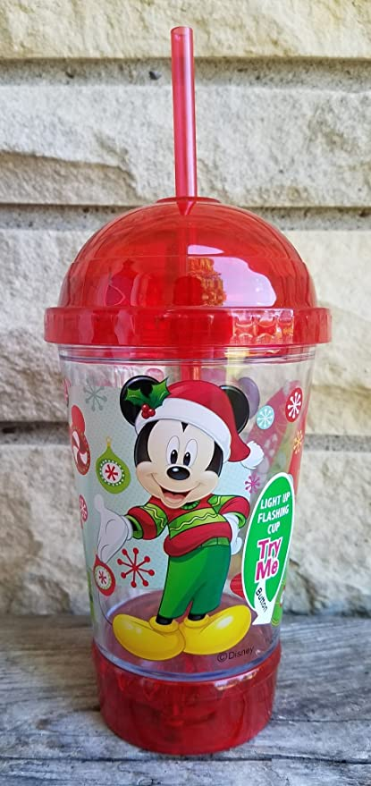 mickey mouse merry christmas red flashing - Merry Christmas Mickey Mouse