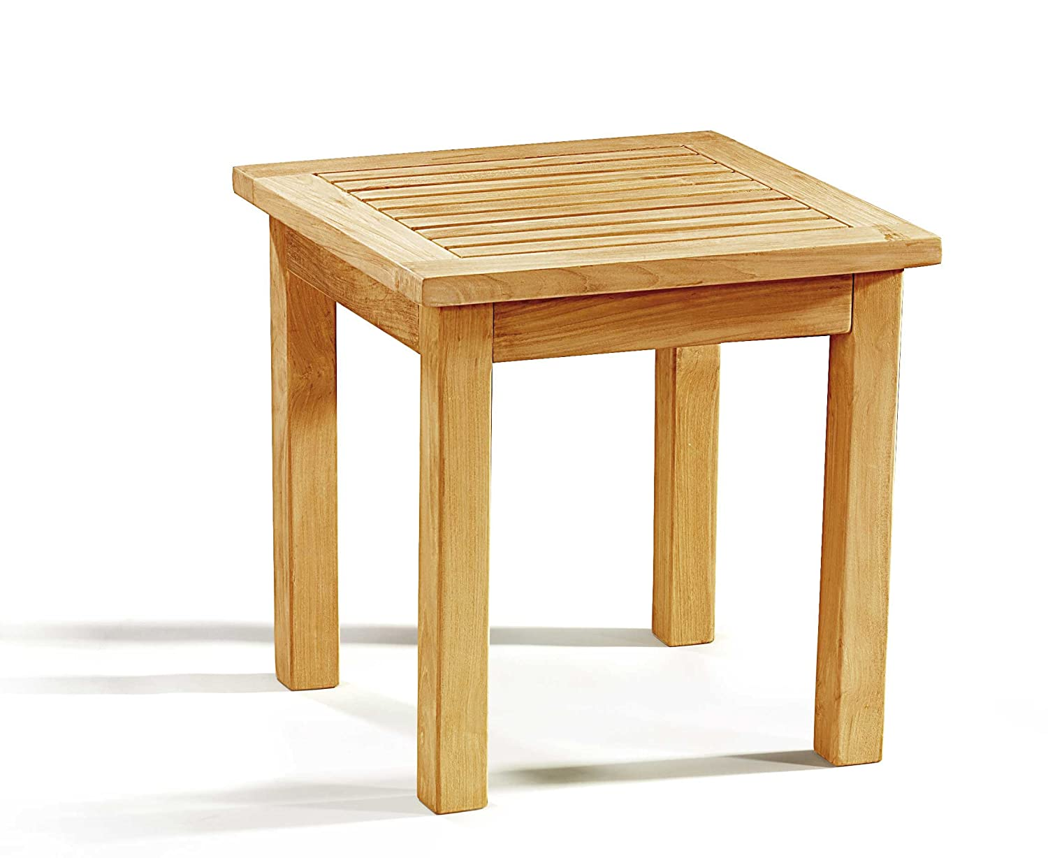 Jati Teak Wood Occasional Square Garden Side Table Brand, Quality & Value
