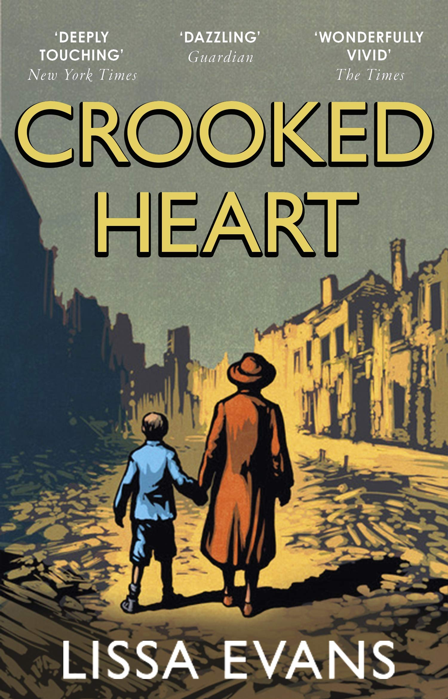 Crooked Heart: 'My book of the year' Jojo Moyes: Amazon.co.uk: Evans, Lissa:  9780552774789: Books