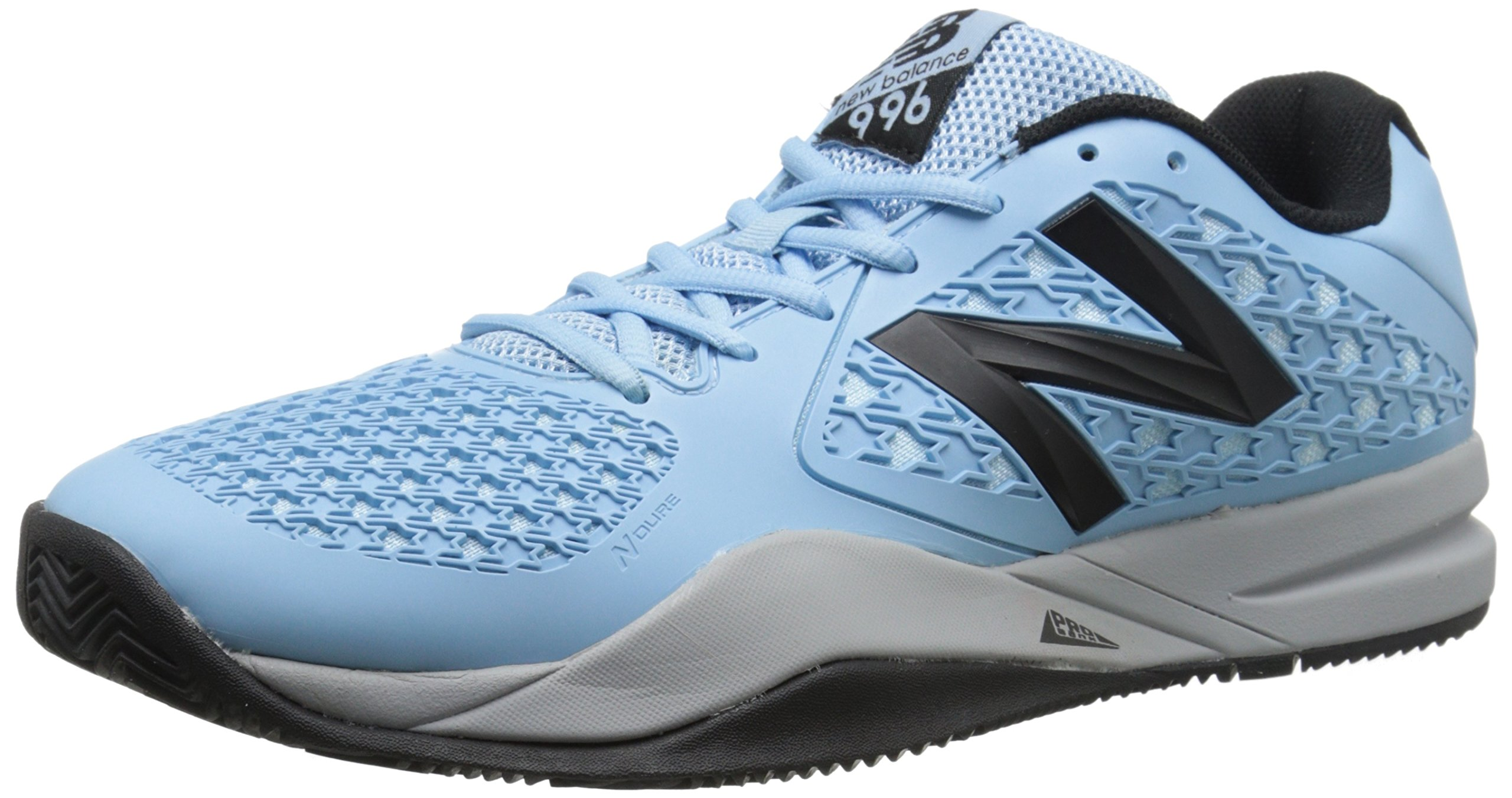 new arrival 97f68 aacb8 Galleon - New Balance Men s MC996 Lightweight Tennis Shoe, Blue Black, 9 D  US