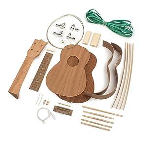 StewMac Build Your Own Soprano Ukulele Kit