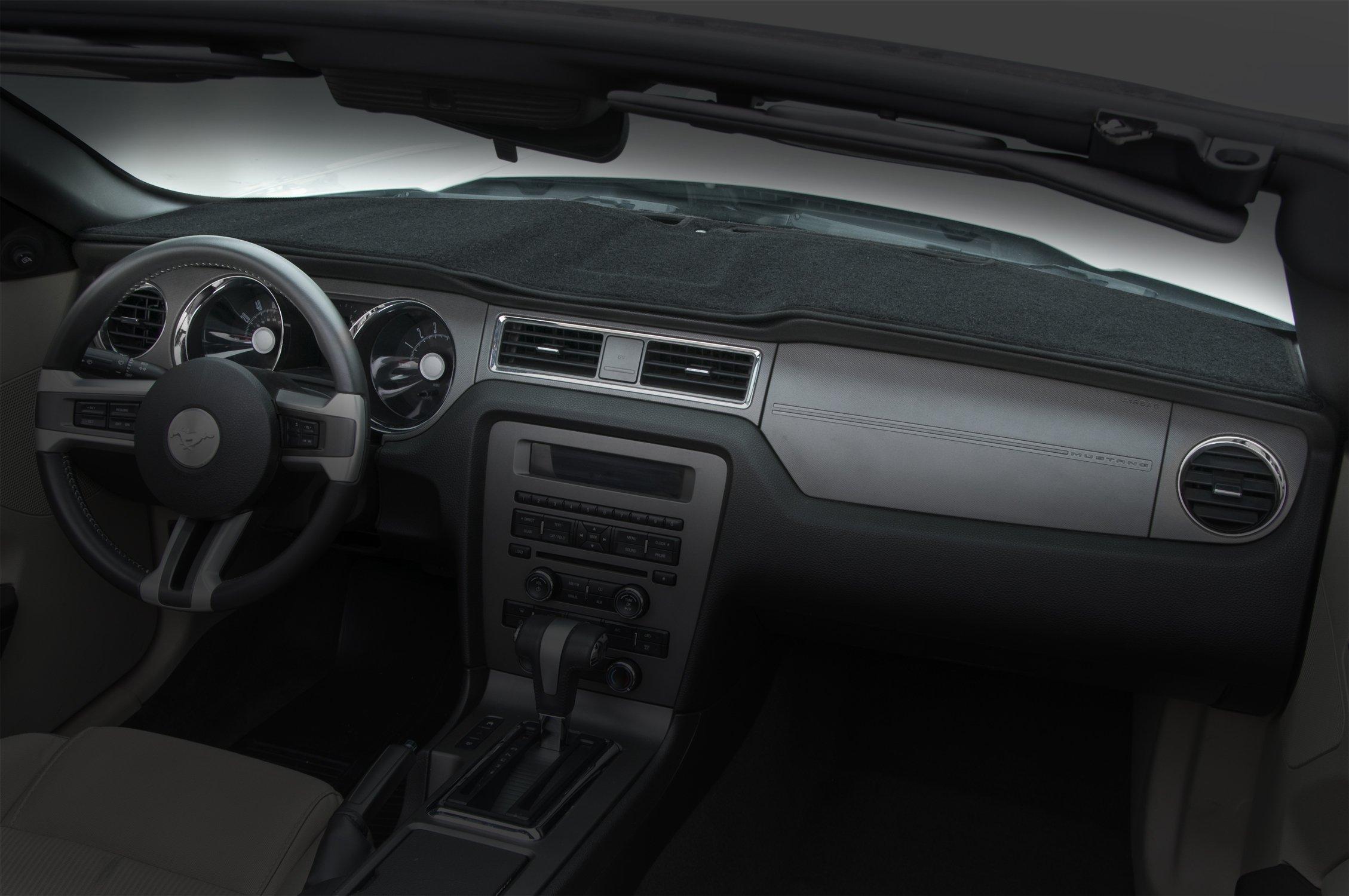 Coverking Custom Fit Dashcovers for Select Mazda 3 Models - Poly Carpet (Black)