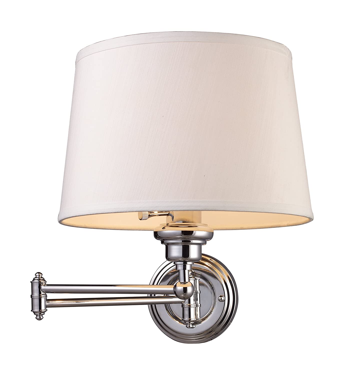 Elk 112101 westbrook 1 light swing arm sconce in polished chrome elk 112101 westbrook 1 light swing arm sconce in polished chrome wall sconces amazon amipublicfo Image collections