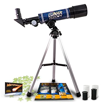 amazon com discover with dr cool lunar telescope for kids
