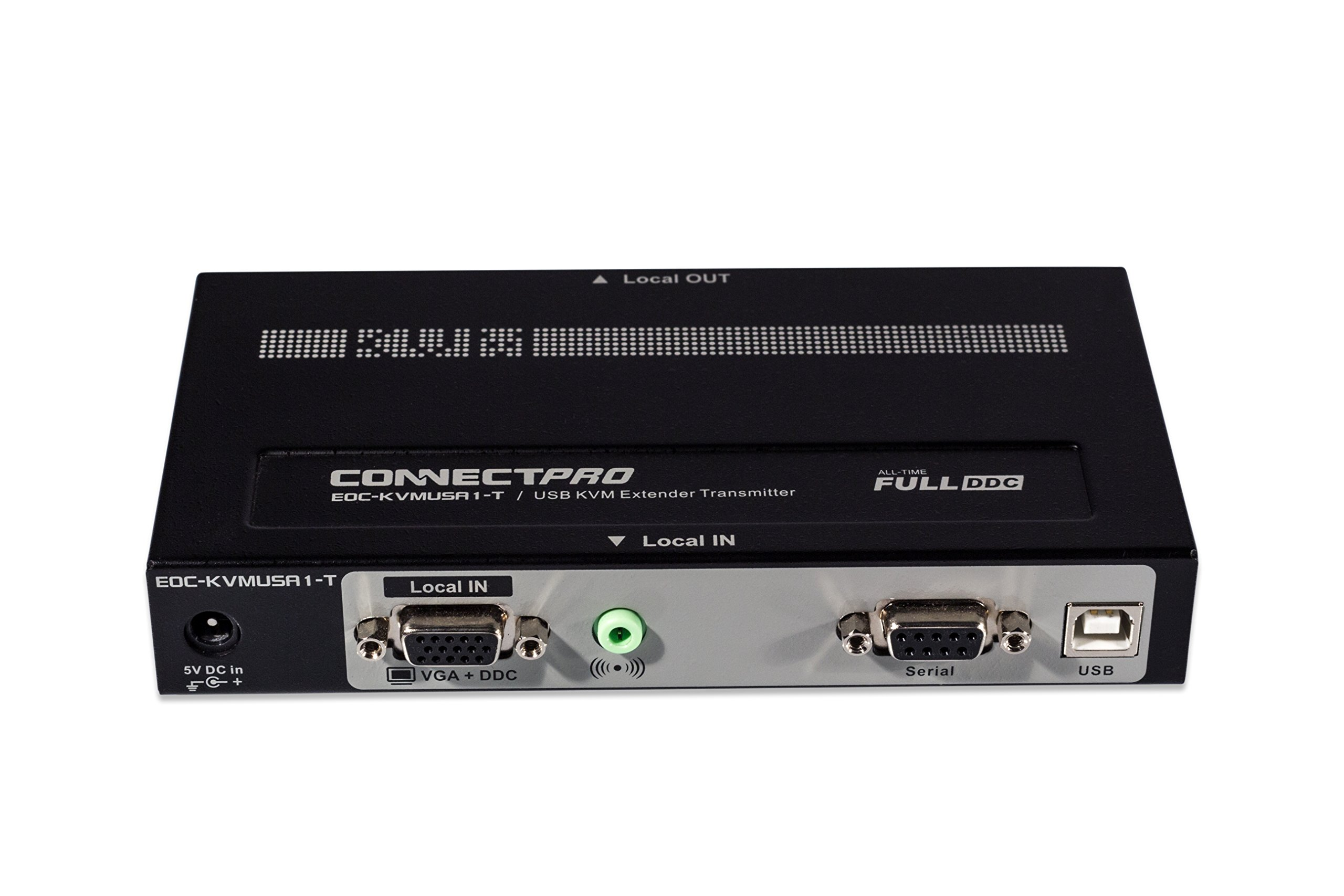 ConnectPRO EOC-KVMUSA1 KVM Console Extender for Video, USB, Serial, and Audio over CATx up to 1,000 ft. by ConnectPRO (Image #2)