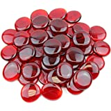 Gemnique X-Large Glass Gems - Red (48 oz.)