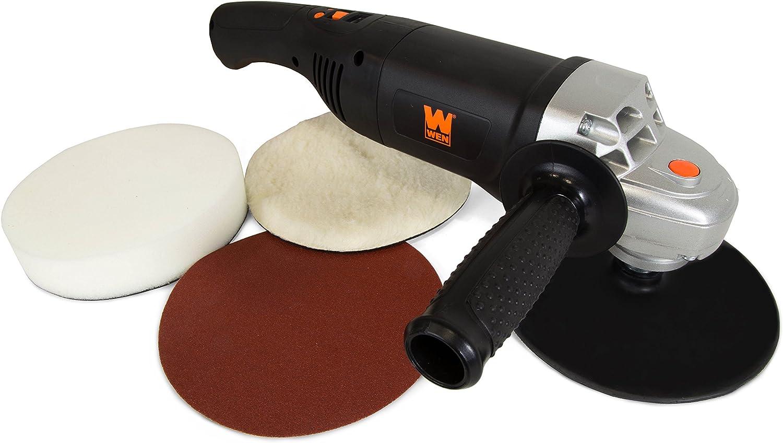 3-Pack WEN 94810-052-3 7-Inch Hook and Loop Foam Polishing Pads