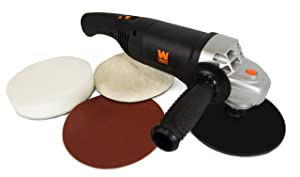 WEN 94810 10-Amp 7-Inch Variable Speed Polisher and Power Sander with Digital Readout