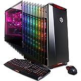 CYBERPOWERPC Gamer Master GMA2200A Desktop Gaming PC (AMD Ryzen 7 1700 3.0GHz, AMD RX 580 4GB, 16GB DDR4 RAM, 2TB 7200RPM HDD & Win 10 Home), Black