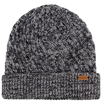 new arrivals 295b4 74265 ... reduced adidas womens twilight beanie black deepest space grey one size  a716d 1b191