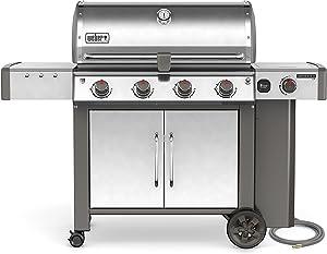 Weber 67004001, Four-Burner, Stainless Steel