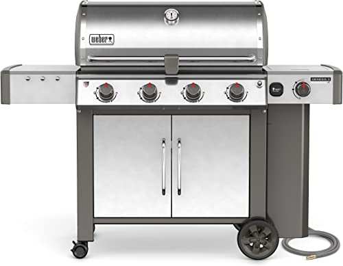 Weber 67004001, Four-Burner, Stainless Steel