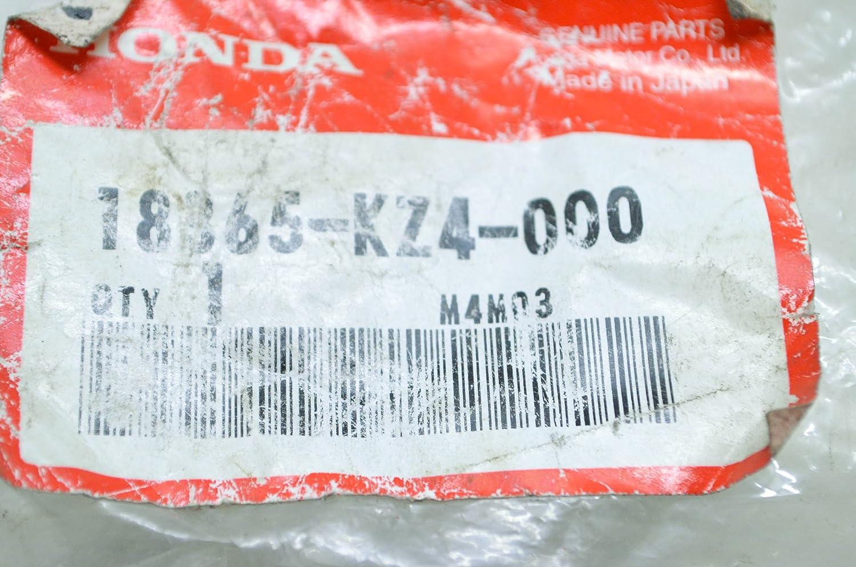 Honda 18365-KZ4-000 RUBBER QTY 1