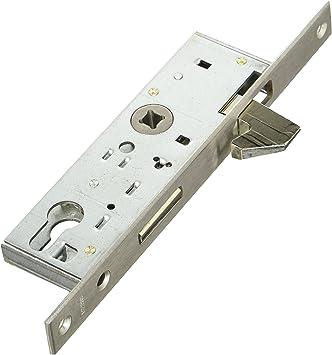 BMH 1331000006 Puerta Corredera Cerradura | Trampa con gancho y cerrojo, mandril: 35 mm, PZ con cambio: Amazon.es: Bricolaje y herramientas
