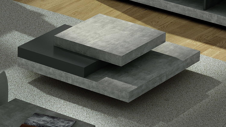 Zuri Furniture Zion Coffee Table - Matte Black