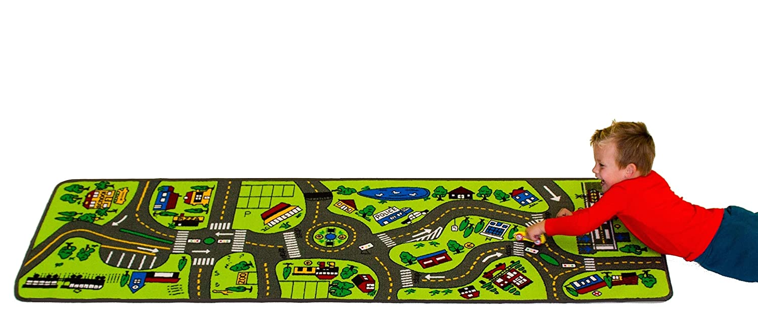 Amazon.com: Learning Carpets Giant Road LC 124: Toys & Games