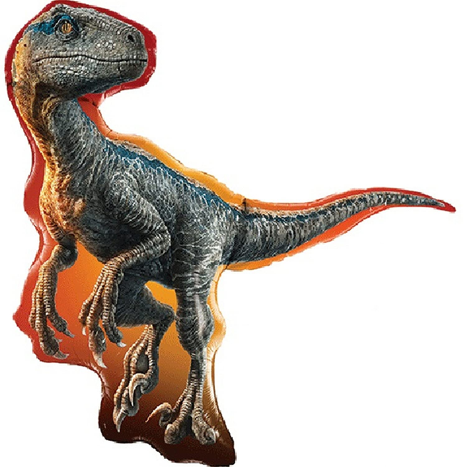 Jurassic World Raptor Helium Shape Large 38