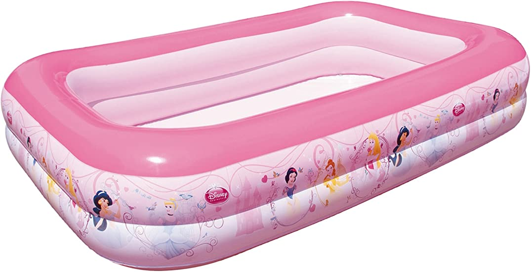 Bestway Color Baby Piscina Princesas Hinchable Rectangular: Amazon ...