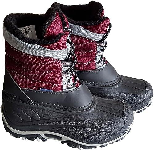 Mädchen Schuhe Stiefel Boots Kinderschuhe warm gefüttert Bordeaux Gr.18 19 20 21