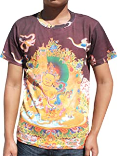 Raan Pah Muang RaanPahMuang Cotton Shirt Cloud Dragon EURO Collar LS