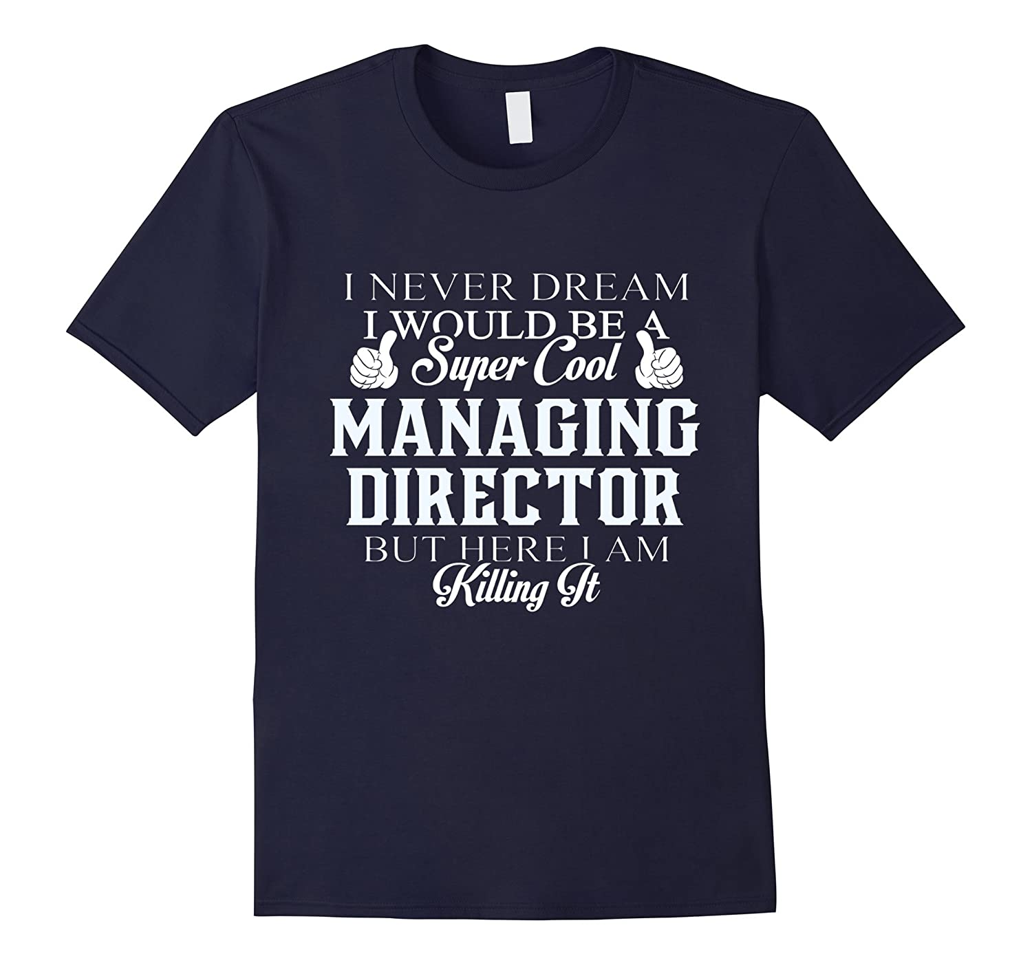 Dreamed would be super cool Managing director killing it-Vaci
