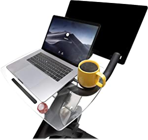 Spintray for Peloton Original.Made in The USA. The Original Spintray Allowing You to Work and Ride with Your Laptop, Book, Tablet or Phone.