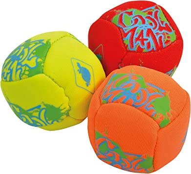 Schildkröt Funsports Set de Mini Pelotas Divertidas de Neopreno, 3 ...