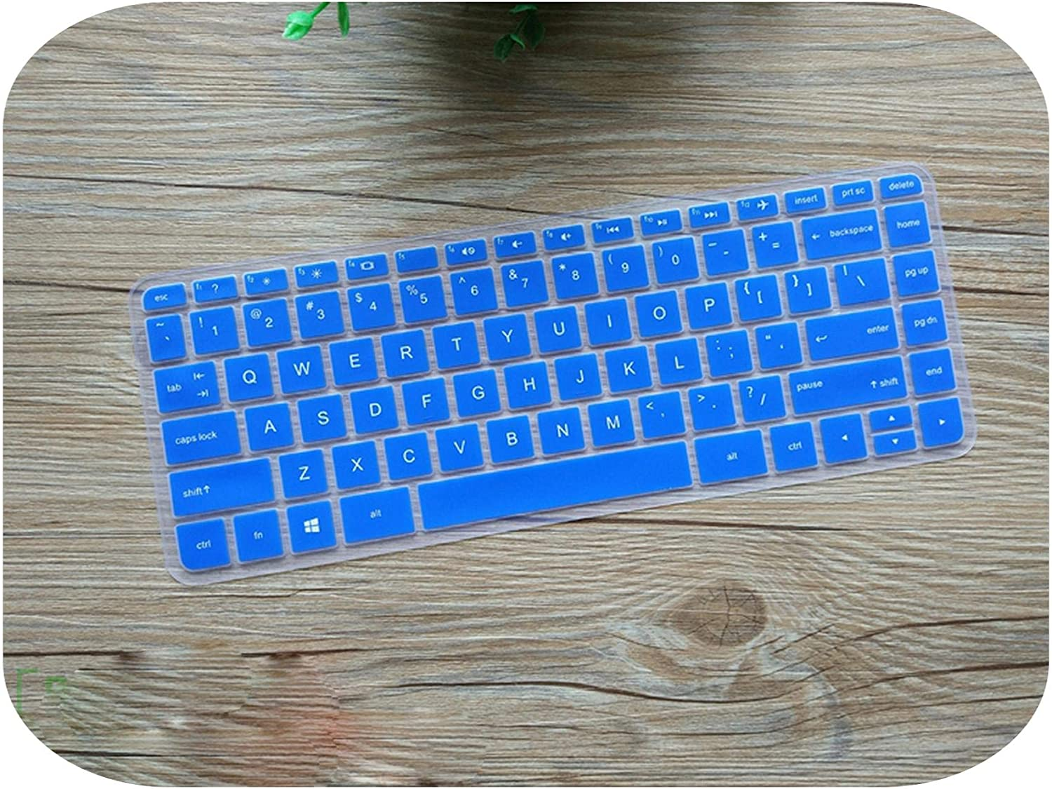 Laptop 14.0 Inch Keyboard Cover Skin Protector for Hp Envy 14 Pavilion 14 X360 13 (2016 Version) 14-U204Tx Envy 14-J104Tx-Blue-