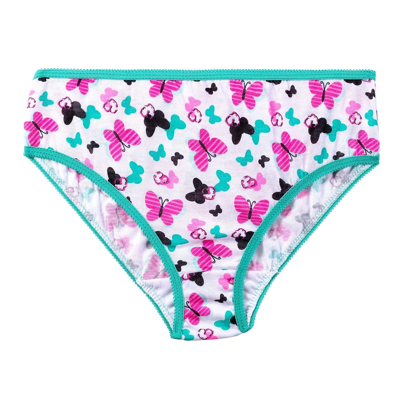 Simply Adorable Girls Bikini Panty Underwear 10 Pack