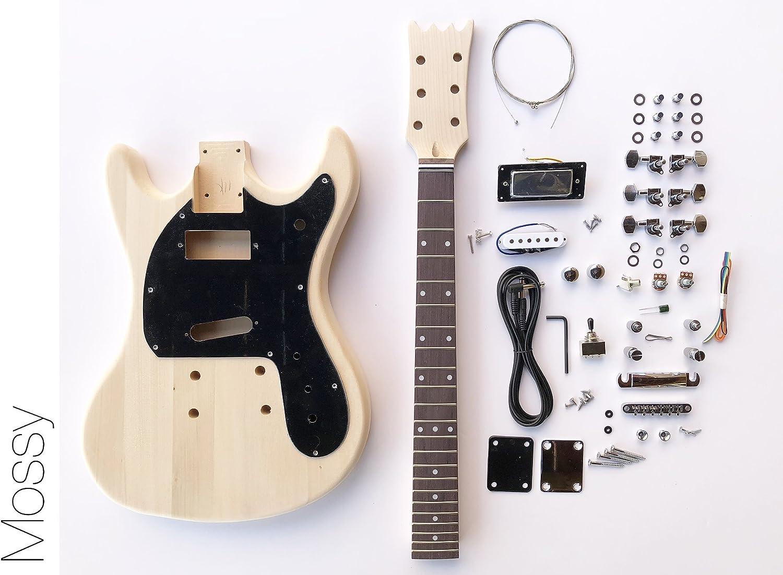 DIY Kit de guitarra eléctrica? Mos estilo construir su propio Kit ...