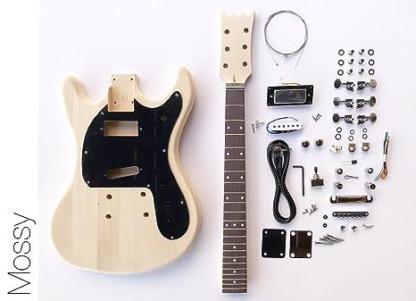 DIY Kit de guitarra eléctrica? Mos estilo construir su propio Kit de guitarra