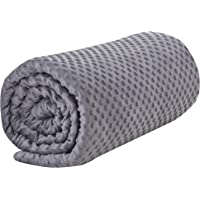 ARNTY Funda de Manta con Peso Terciopelo de Cristal,Velvet Weighted Blanket Cover (Funda…