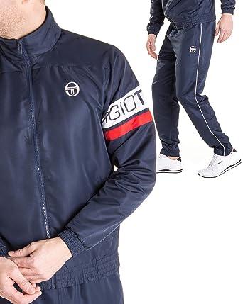 86a27b9f9360 Sergio Tacchini - Ensemble Jogging Homme Cohen Navy Veste zippée - Couleur   Bleu - Taille