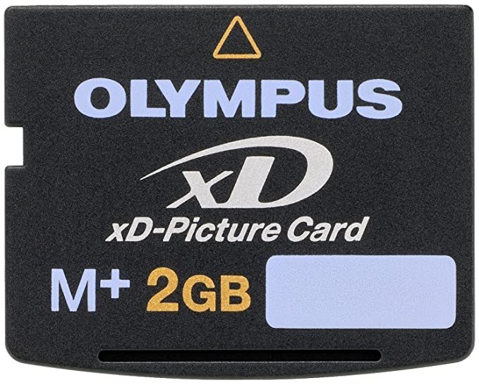 Olympus xD-Picture Card Type My - Tarjeta de Memoria (2 GB, 3.3V, 2g, 20 x 25 x 1,7 mm), Color Negro