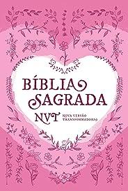 Bíblia Sagrada NVT - Coração Rosa