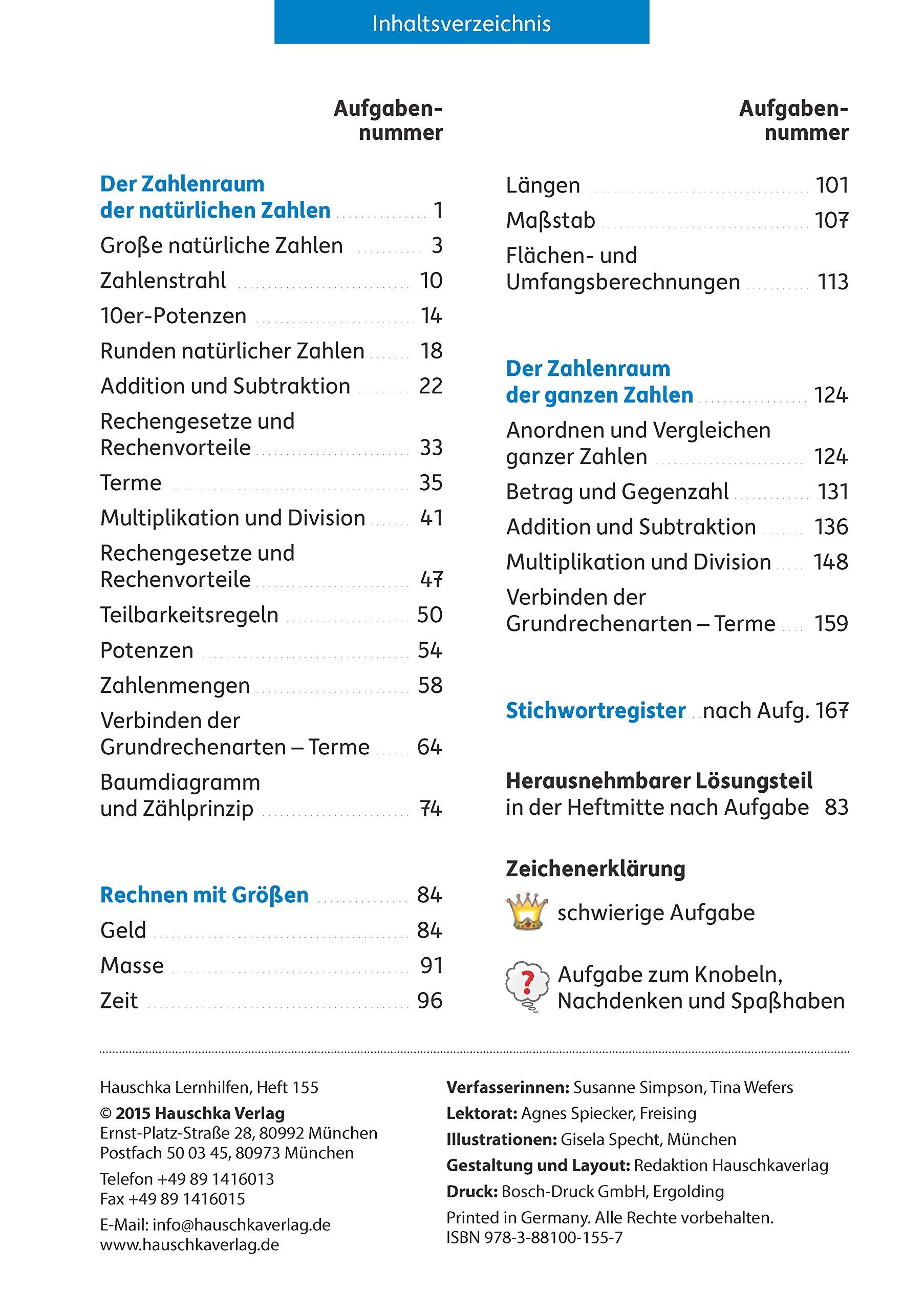 Rechnen und Textaufgaben - Gymnasium 5. Klasse: 9783881001557 ...