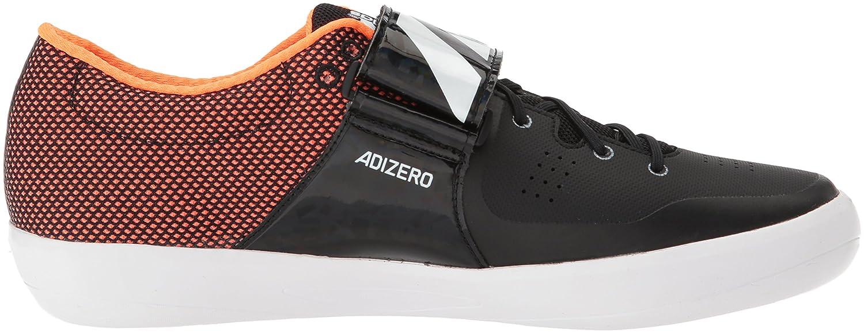 adidas - Adizero Shotput Femme Mixte Adulte Homme Core Black, Ftwr White, Orange