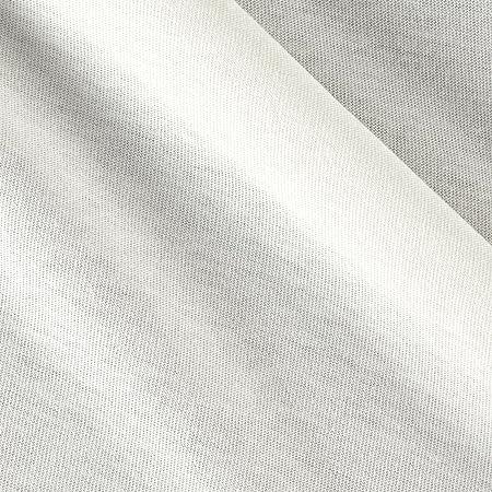 Telio algodón orgánico blanco de punto jersey tela por el patio: Amazon.es: Hogar